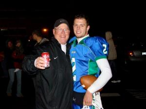 Coach Skip and Blaine Dalton - 2008 Simone Award Winner