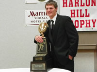 Eric Czerniewski at Harlon Hill Awards Ceremony