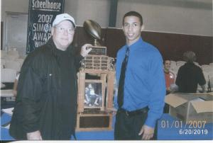 Nathan Scheelhaase 2007 Simone MVP Award Winner Illinois Starting QB